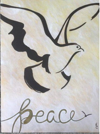 artwork by death row inmate, Kevin Cooper.