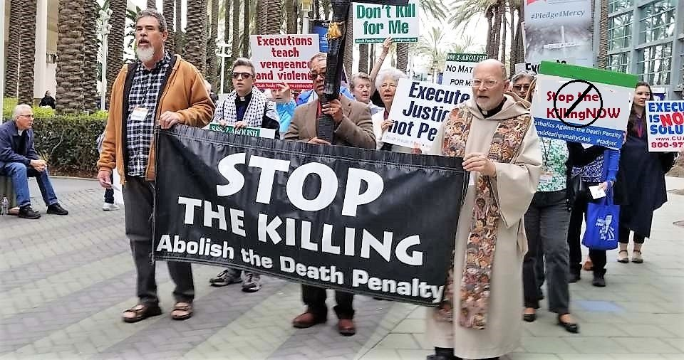 people boycotting the death penalty